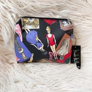 NWT Nicole Miller Rare Vtg Barbie Cosmetics Bag